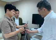 2019年3月22日 日本Sumita 公司董事Mr. Watanabe San 參訪德盟儀器公司